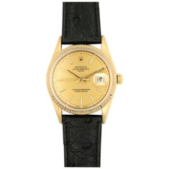 Rolex Oyster Perpetual Date Watch Model 15037