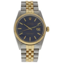 Rolex Oyster Perpetual Datejust 16013 Blue Dial