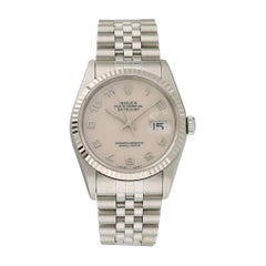 Rolex Oyster Perpetual Datejust 16234 Rolex Dial Men's Watch