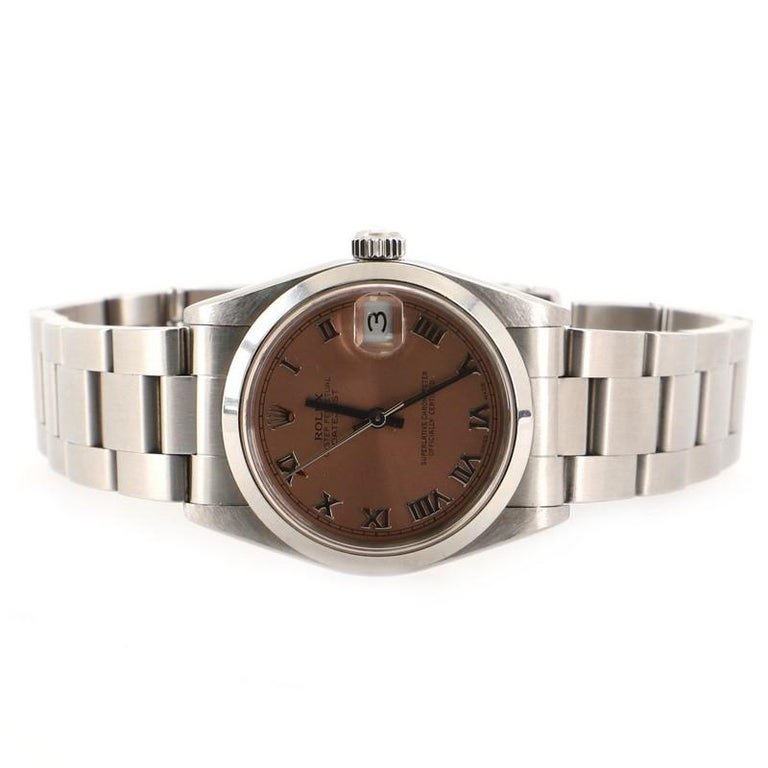Rolex Oyster Perpetual Datejust Automatic Watch Stainless Steel 31 In Good Condition In New York, NY