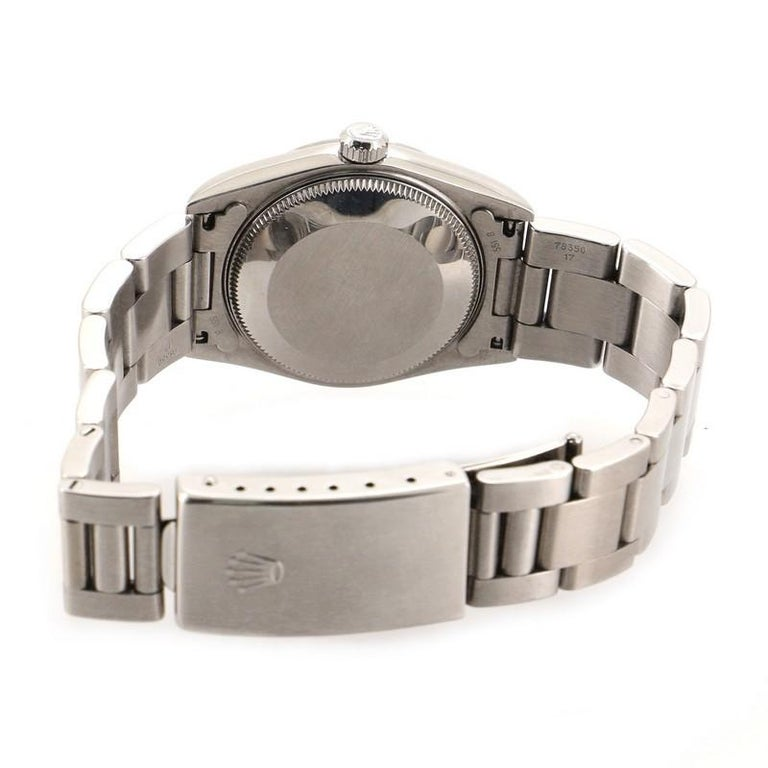 Women's or Men's Rolex Oyster Perpetual Datejust Automatic Watch Stainless Steel 31