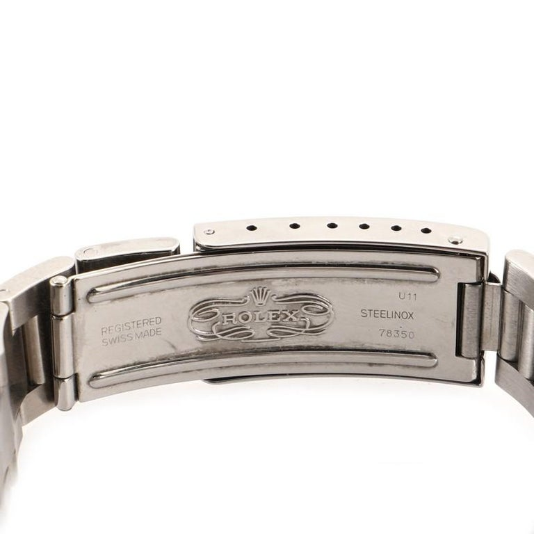 Rolex Oyster Perpetual Datejust Automatic Watch Stainless Steel 31 2