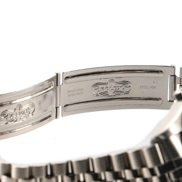 Rolex Oyster Perpetual Datejust Automatic Watch Stainless Steel and White Gold 3
