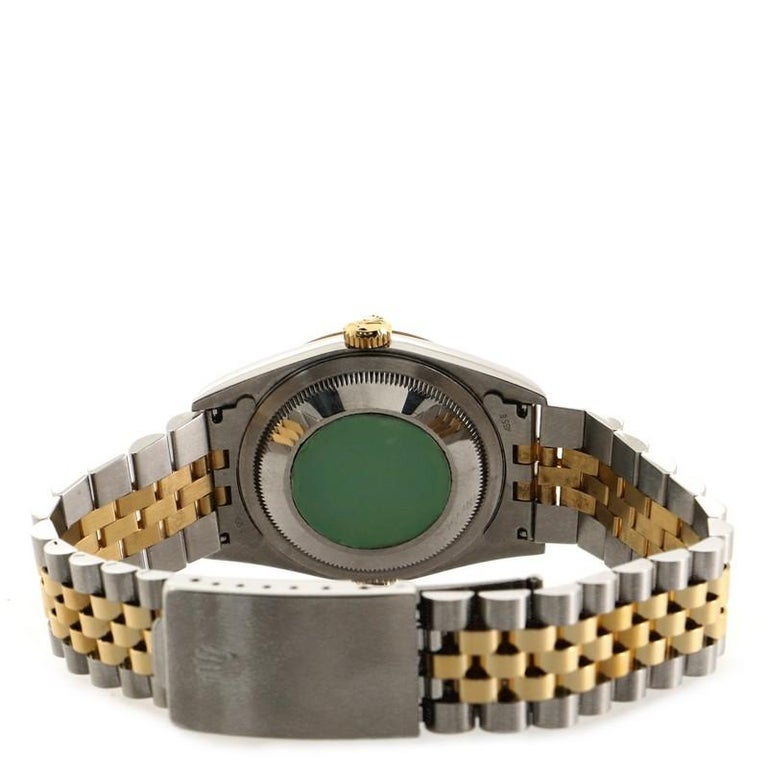 Rolex Oyster Perpetual Datejust Automatic Watch Stainless Steel and Yellow Gold  1