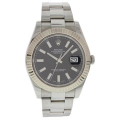 Rolex Oyster Perpetual Datejust II 116334 Black Dial