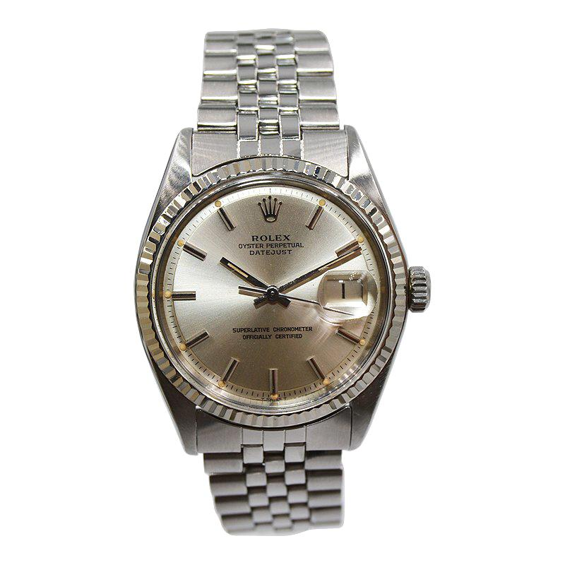 Rolex Oyster Perpetual Datejust Ref 1601 Original Dial, Early 1970's