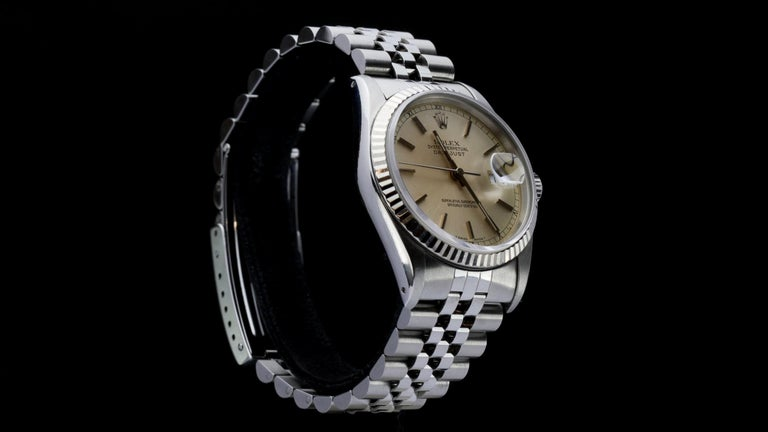 Rolex Oyster Perpetual DateJust Ref 16234 In Good Condition For Sale In Braintree, GB