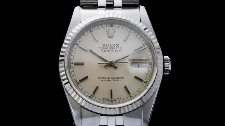 Men's Rolex Oyster Perpetual DateJust Ref 16234 For Sale