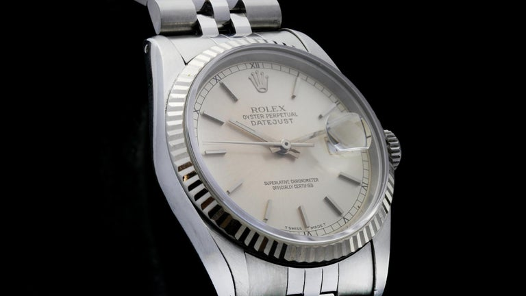 Rolex Oyster Perpetual DateJust Ref 16234 For Sale 2