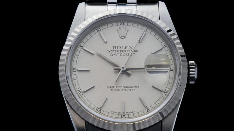 Rolex Oyster Perpetual DateJust Ref 16234 For Sale 3