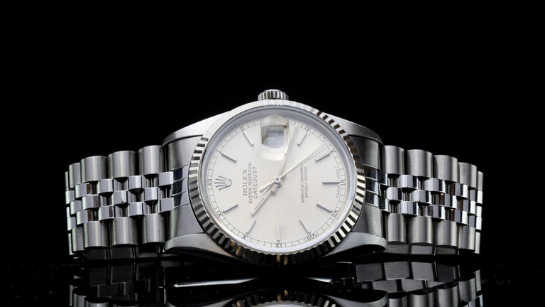 Rolex Oyster Perpetual DateJust Ref 16234 For Sale 4