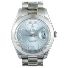 Rolex Oyster Perpetual Day-Date II Watch 218206 ibldrp