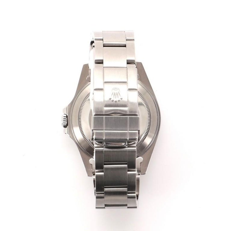 Rolex Oyster Perpetual Explorer II Automatic Watch Stainless Steel 40 In Good Condition In New York, NY