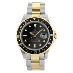 Rolex Oyster Perpetual GMT-Master II 18 Karat 16713 Men's Watch