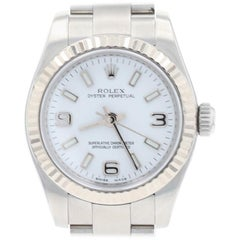 Rolex Oyster Perpetual Ladies Wristwatch, Stainless Automatic 2 Yr Wnty 176234