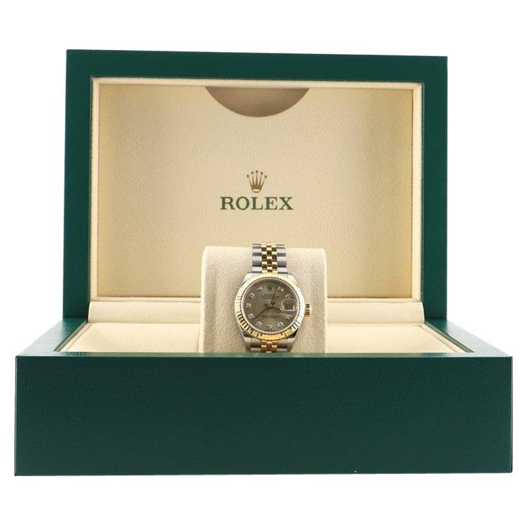 Rolex Oyster Perpetual Lady Datejust Automatic Watch Stainless Steel