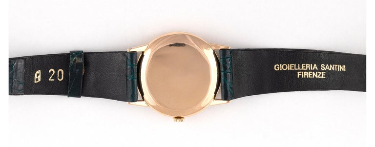 Retro Rolex Oyster Perpetual Manual-Winding 18 Karat Yellow Gold Wristwatch For Sale