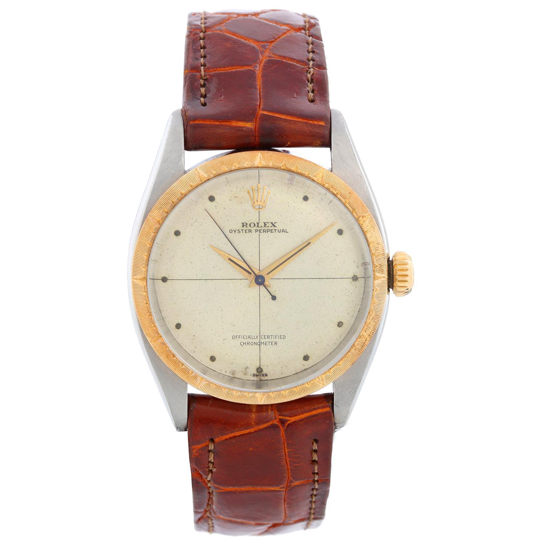 Rolex Oyster Perpetual Men's 2-Tone Watch Ref 6582