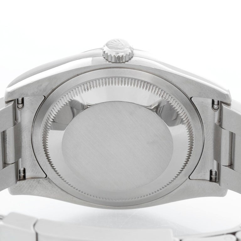 Rolex Oyster Perpetual Men's Stainless Steel Watch 116000 For Sale 1