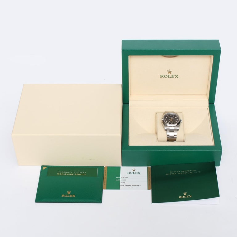 Rolex Oyster Perpetual Men's Stainless Steel Watch 116000 For Sale 2