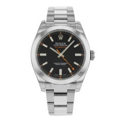 Rolex Oyster Perpetual Milgauss 116400 BKO Steel Automatic Men's Watch
