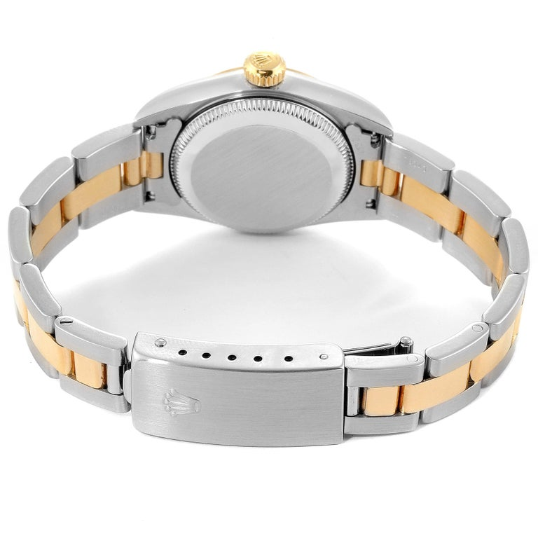 Rolex Oyster Perpetual NonDate Steel Yellow Gold Ladies Watch 67183 5