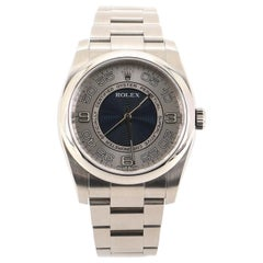 Rolex Oyster Perpetual Random Roulette Automatic Stainless Steel 36 Watch