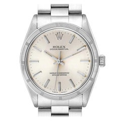 Rolex Oyster Perpetual Stainless Steel Vintage Men's Watch 1007