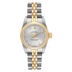 Rolex Oyster Perpetual Steel Yellow Gold Diamond Ladies Watch 67193