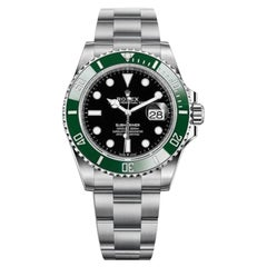 Rolex Oyster Perpetual Submariner Men's Watch Model #: 126610LV Kermit
