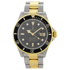 Rolex Oyster Perpetual Submariner Date 16613 Men's Watch