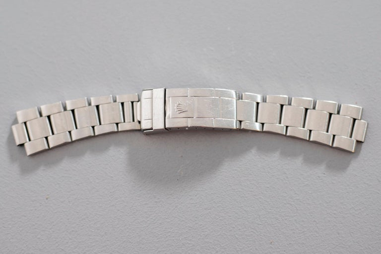 Rolex Oyster Perpetual Submariner, ref. 5513 Underline Gold Graphics 1963 For Sale 6