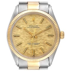 Rolex Oyster Perpetual Vintage Steel Yellow Gold Men's Watch 1002