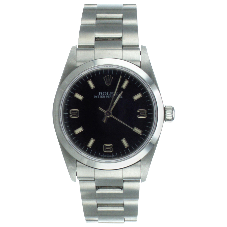 Rolex Oyster Perpetual Wrist Watch Ref 67480