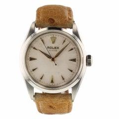 Rolex Oyster Precision Vintage Steel Manual Watch 6480, circa 1942