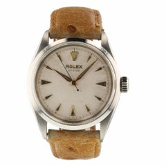 Rolex Oyster Precision Vintage Steel Manual Watch 6480, circa 1942