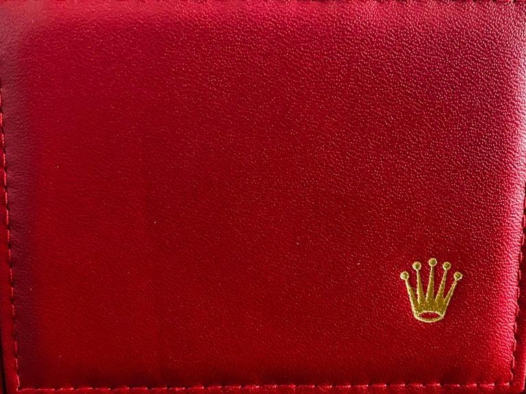 Rolex Oyster Prepetual Datejust Diamond Dial Diamond Bezel Gold Watch  4