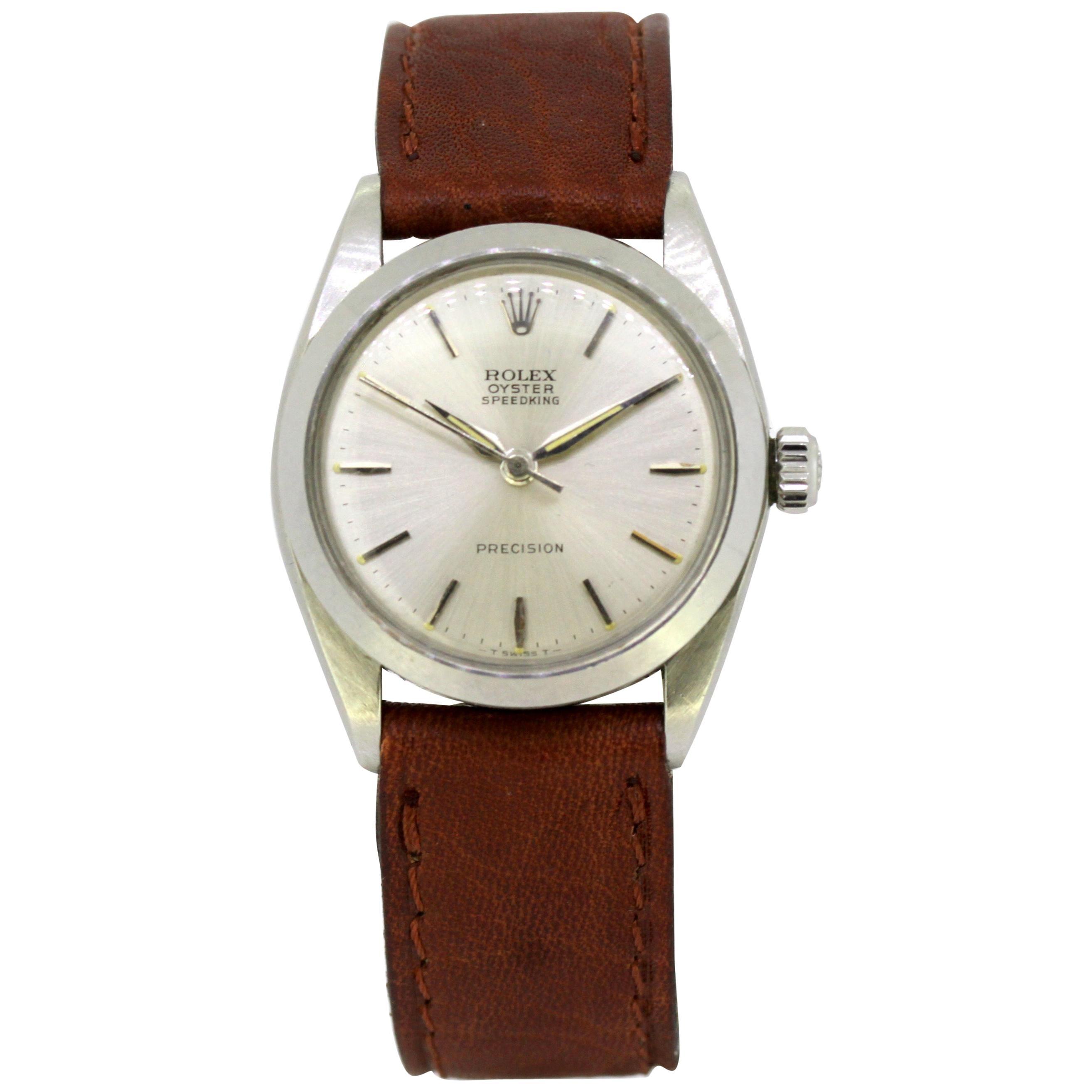 Rolex, Oyster Speedking, 6824, Unisex, 1960s
