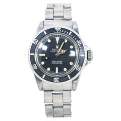 Rolex Oyster Submariner 5513 1.6MAutomatic Vintage Matte Dial Meters First Watch