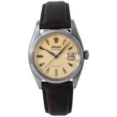 Rolex Oysterdate 6494, Case, Certified and Warranty