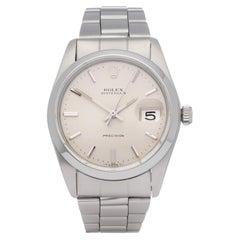 Rolex Oysterdate 6694 Unisex Stainless Steel Watch