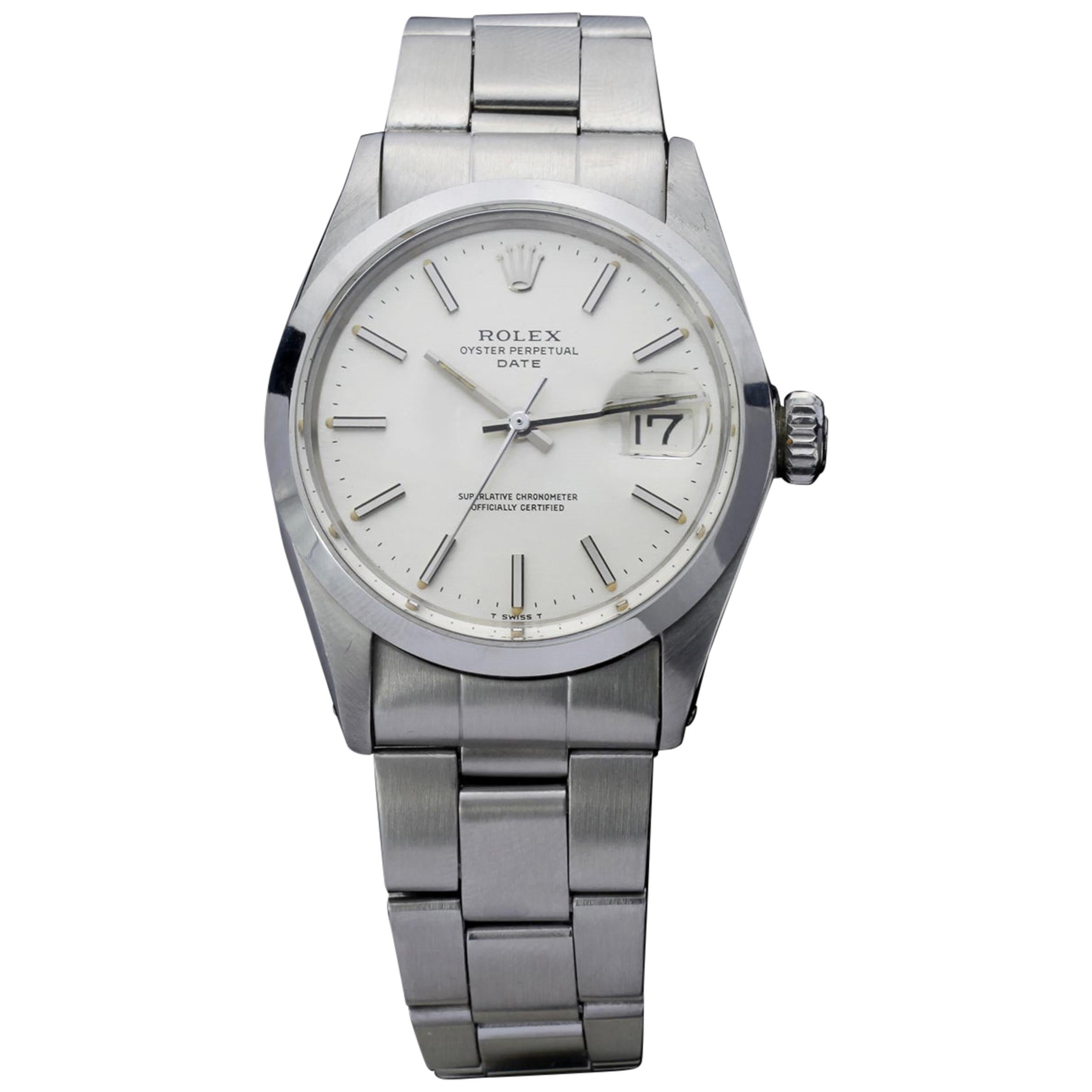 Rolex Oysterdate Perpetual Stainless Steel 1500