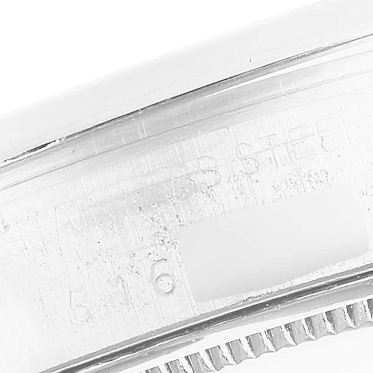 Rolex OysterDate Precision Bronze Dial Steel Vintage Men's Watch 6694 For Sale 3