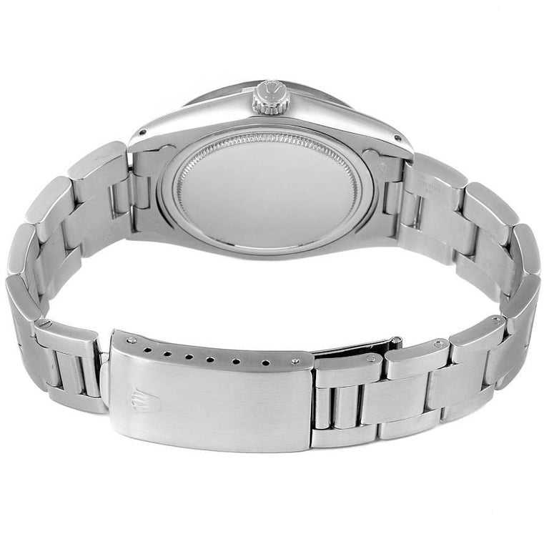 Rolex OysterDate Precision Bronze Dial Steel Vintage Men's Watch 6694 For Sale 6