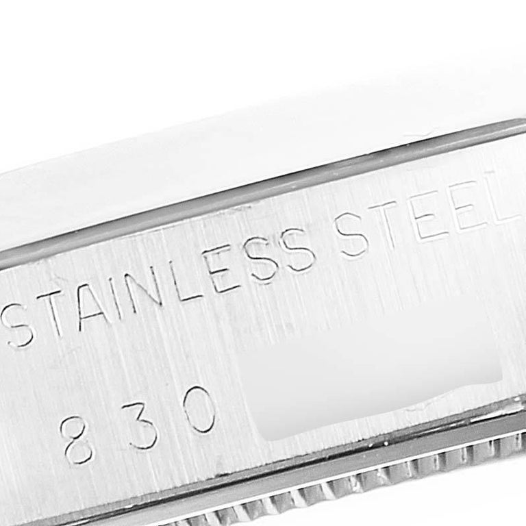 Rolex OysterDate Precision Silver Dial Steel Vintage Men's Watch 6694 3
