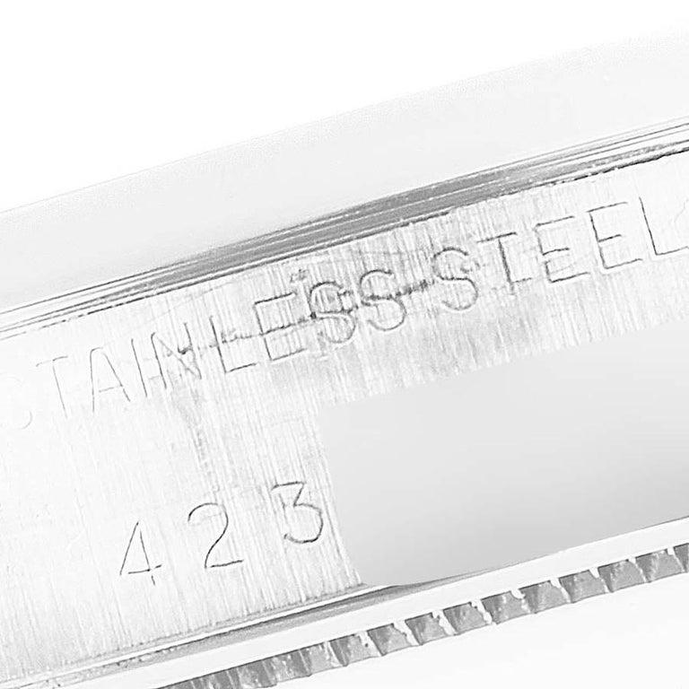 Rolex OysterDate Precision Steel Vintage Men's Watch 6694 3