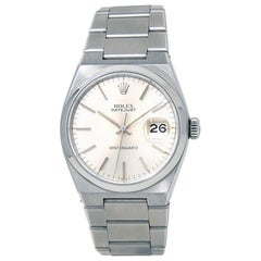 Rolex Oysterquartz 17000, Silver Dial, Certified and Warranty
