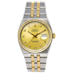 Rolex Oysterquartz 17013, White Dial, Certified and Warranty