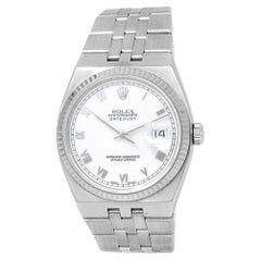 Rolex Oysterquartz 17014, White Dial, Certified and Warranty
