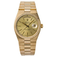Rolex Oysterquartz 19018, Champagne Dial, Certified and Warranty